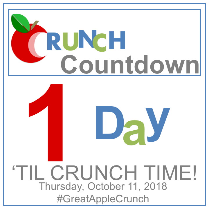 Count Down to Apple Crunch Day