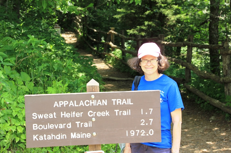 Laura Chatfield and the Appalachian Trail
