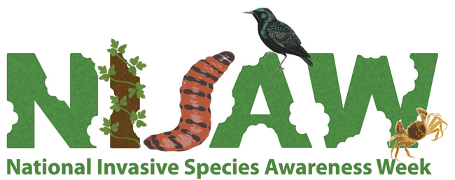 National Invasive Species Awareness Week Logo
