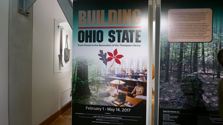 OSU Library Forest Exhibit