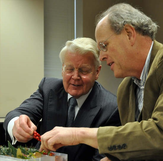 President Grimmson and Botany in a Box in 2009