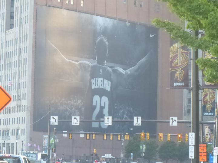 Cleveland Ohio Before The Game: 6-19-16