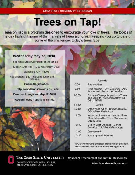 Trees on Tap Flyer