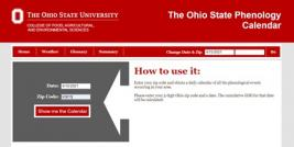 OSU Growing Degree Day Website