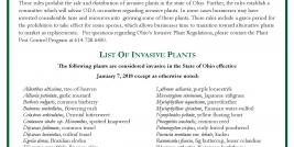 ODA Invasive Plant List