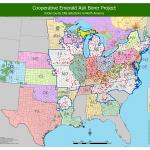 USDA EAB Map - April 2017